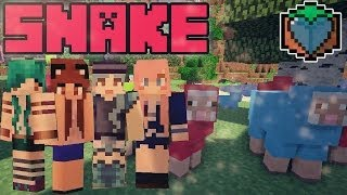 SNAKE | Minecraft Mini Game | With The Pixel Pact