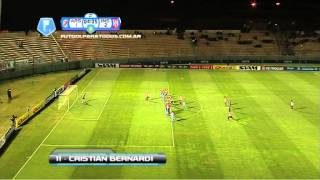 Gol de Bernardi. Arsenal 1 - Instituto 2. 16 avos. de final. Copa Argentina.