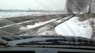 Первый весенний тест-драйв УАЗ Патриот Спорт