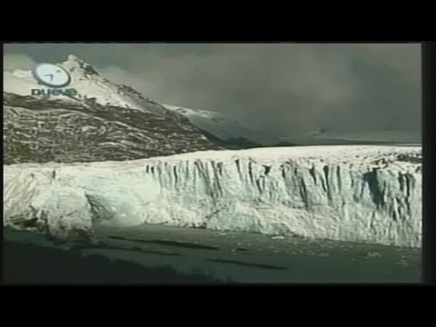 Antarctic glacier melting rapidly