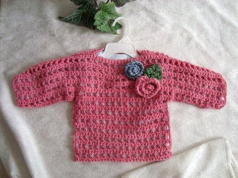 PINK SUMMER CROCHET SWEATER, baby to adult, crochet pattern, how to diy, easiest sweater pattern