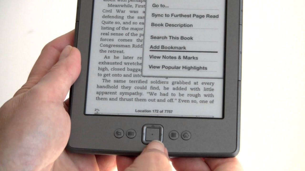 Amazon Kindle 4th Gen Review - YouTube