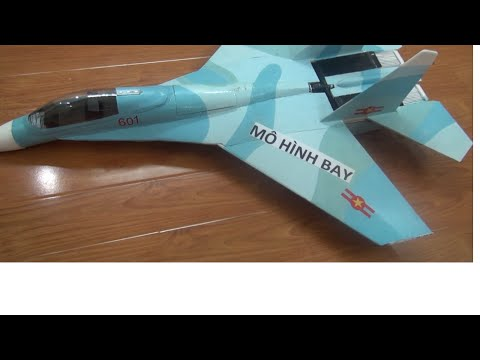 Hướng dẫn làm máy bay mô hình điện cánh bằng - P1: Giới thiệu