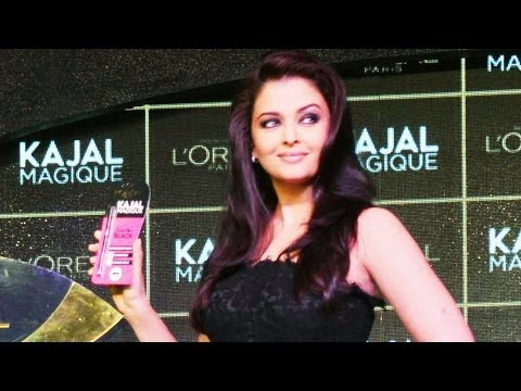 Lady in black: Curvacious Aishwarya Rai Bachchan is back