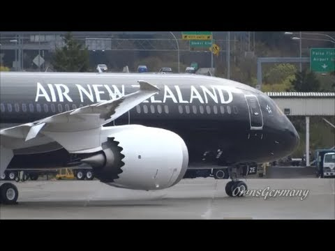 Air New Zealand Boeing 787-9 Dreamliner First Glimpse