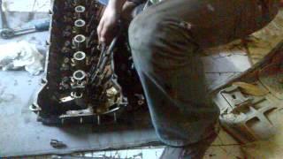 Замена клапанов на двигателе M50B25