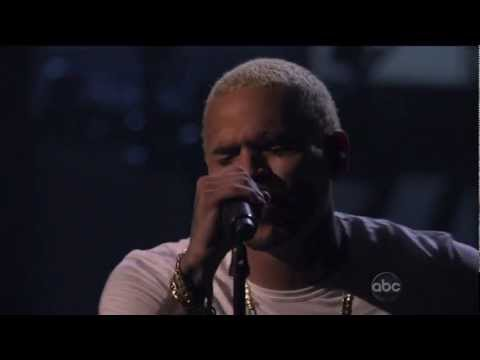 Chris Brown - All Back & Say It With Me (American Music Awards 2011)