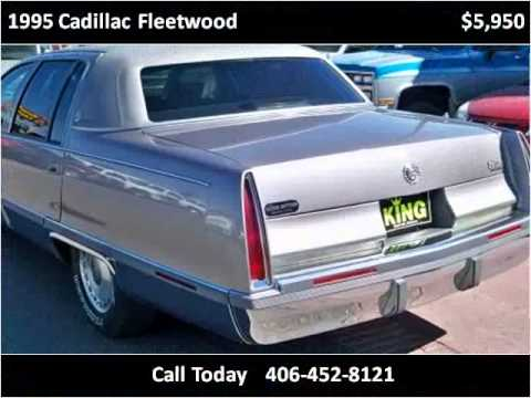1995 Cadillac Fleetwood Used Cars Great Falls Mt Youtube