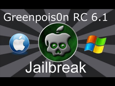 GreenPoison RC5 Untethered 4.2.1 Jailbreak iPhone, iPod Touch &amp; iPad WINDOWS