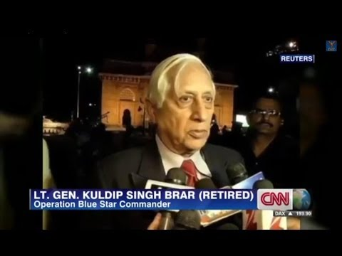 CNN: Did UK help with 1984 Golden Temple attack? Gen Brar Denies Involvement