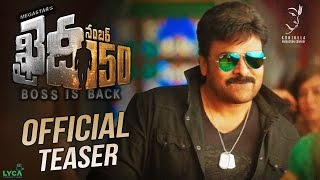 Chiranjeevi 150th movie Khaidi No 150 latest teaser..