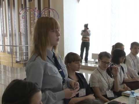 Впервые мысковские школьники с городскими властями