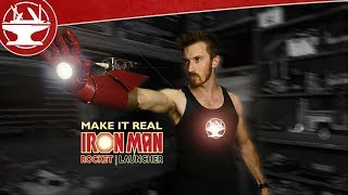 Jairus of All's Iron Man Rocket Launcher with REAL ROCKETS!!!
