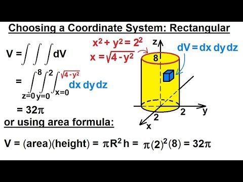 Calculus 3: Triple Integrals (2 of 25) Choosing a Coordinate System: Cartesian