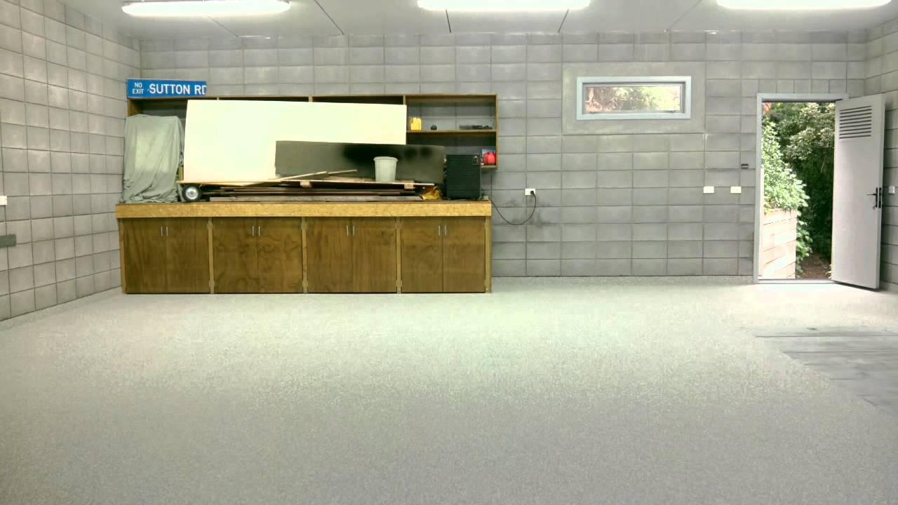 decorative flake garage floor new zealand floor. Black Bedroom Furniture Sets. Home Design Ideas