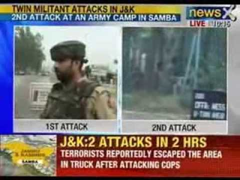 Breaking News : Two attacks in two hours in Jammu and Kashmir