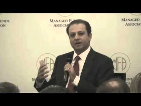 U.S. Attorney Preet Bharara Speaks At MFA's Compliance 2013