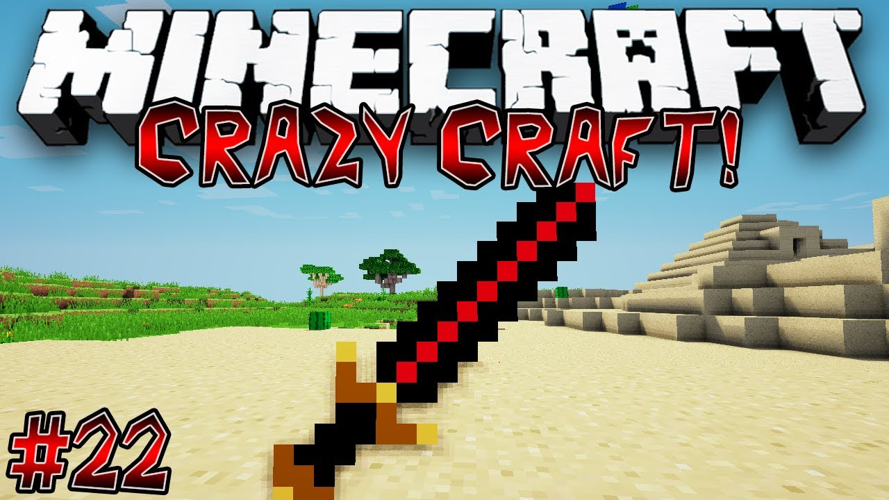 """Crafting Big Bertha!"" - CRAZY CRAFT (MINECRAFT MODDED ..."