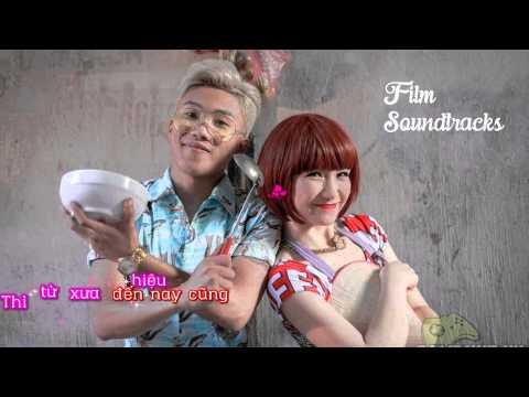 [ Karaoke - Lyric ] Ăn Gì Đây | Mr.T ft. Hòa Minzy