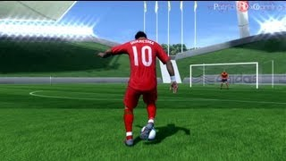 Fifa 14 (13) Trivela Shot Tutorial Outside Foot Shot