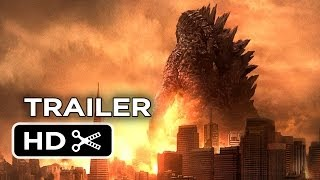 Godzilla Official Trailer #2 (2014) - Bryan Cranston, Ken Watanabe Monster Movie HD