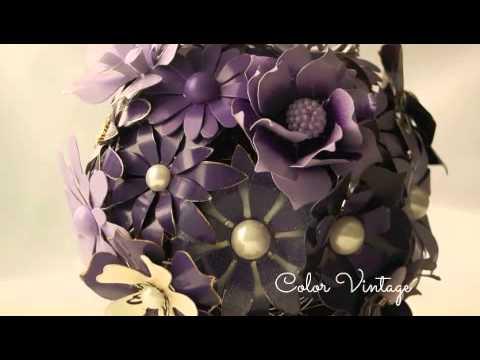 Bouquets  de Color Vintage