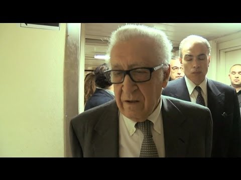LAKHDAR BRAHIMI ON SLOW PROGRESS TOWARDS SYRIA TALKS - BBC NEWS