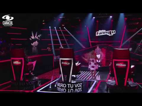 Luis Eduardo cantó 'Darte un beso' de  Prince Royce - LVK Colombia- Audiciones a ciegas - T1