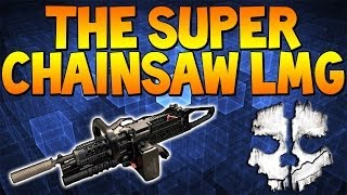 "Cod Ghosts: ""THE SUPER CHAINSAW LMG"" New Series Announcement Inside! (Call of Duty)"