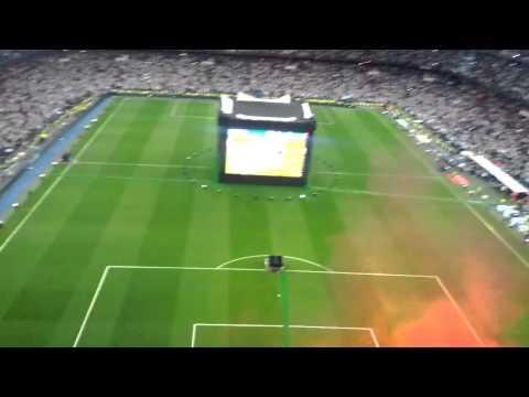 Reacción gol de Gareth Bale contra el Atl. De Madr