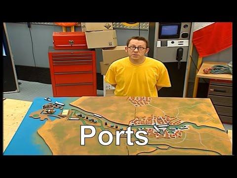 Comment la circulation dans un port est-elle gérée ? - C'est pas sorcier