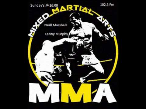 MMA on Dublin City FM - 20/7/14