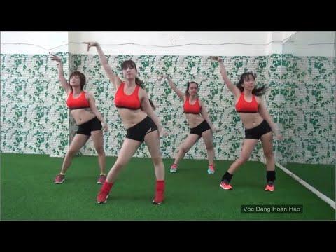 aerobic- thể dục thẩm mỹ-   lắc eo-   bài 3 - Vóc Dáng Hoàn Hảo