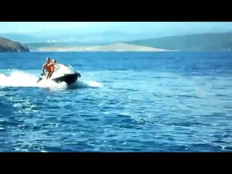 BOYS IN BLUE CROATIAN SEA, Marco & William sula 250 cavalli.... isola di Krk
