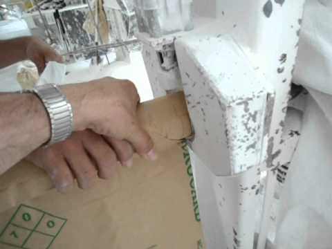 Deseño válvulas sacos papel y PP