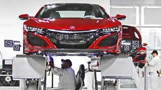 2017 Acura NSX - Made in USA (Performance Manufacturing Center). YouCar Car Reviews.