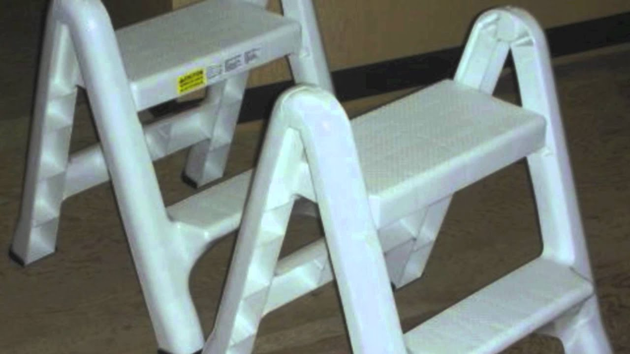 Rubbermaid Step Stool Models From Plastic Folding Two Step