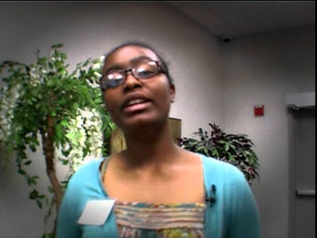 Grace Denson-El, TeenQuest Graduate