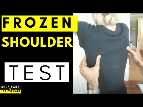 Do you have a Frozen shoulder? Do this simple test to find out
