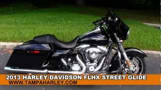 New 2013 Harley Davidson Touring Street Glide FLHX For