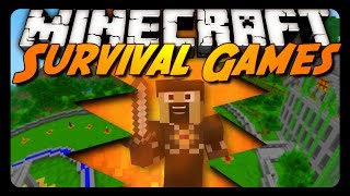 Minecraft: I BROKE THE MAP!? (Hunger Games Survival)