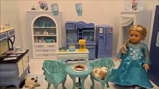 American Girl Doll Disney Frozen Elsa's Kitchen Please