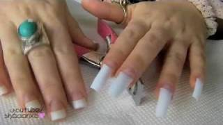 Acrylic Nails ♡ How To Do Your Own Acrylic Nails At Home