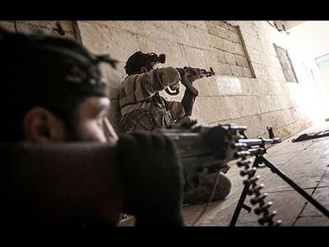 FSA Rebels Heavy Firefights In Different Locations In Syria