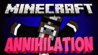 Minecraft ANNIHILATION Server Minigame - Part 1