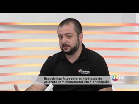 Especialista fala sobre as hipóteses do acidente com...