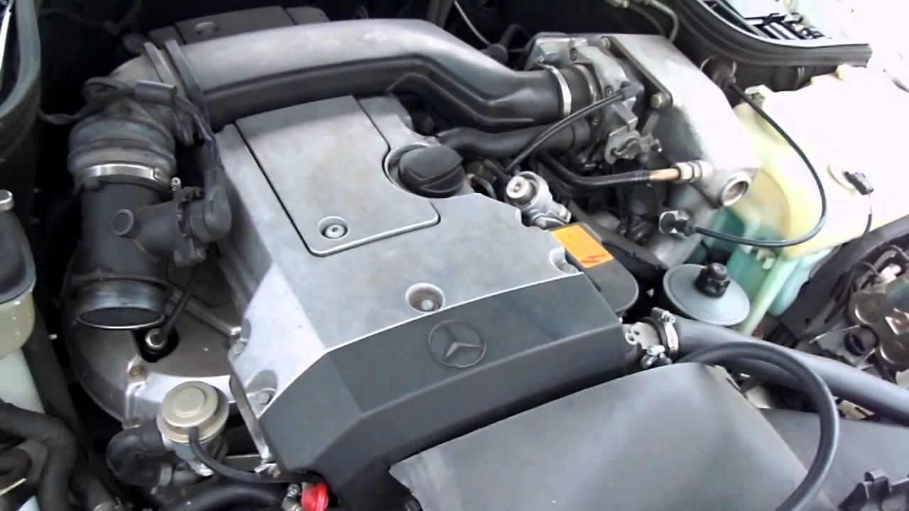 1994 Mercedes C220 Engine Test