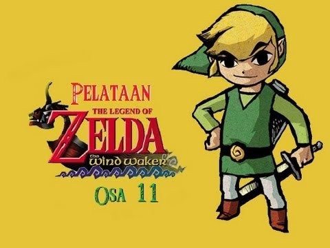 Pelataan The Legend of Zelda Wind Waker Osa 11 [Aarteiden Etsint]