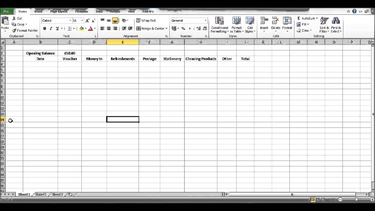 petty cash log sheet template .