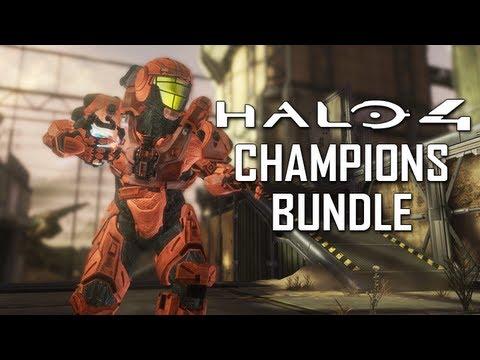 Halo 4 Champions Bundle Trailer! Bullseye Pack, Steel Skin ...